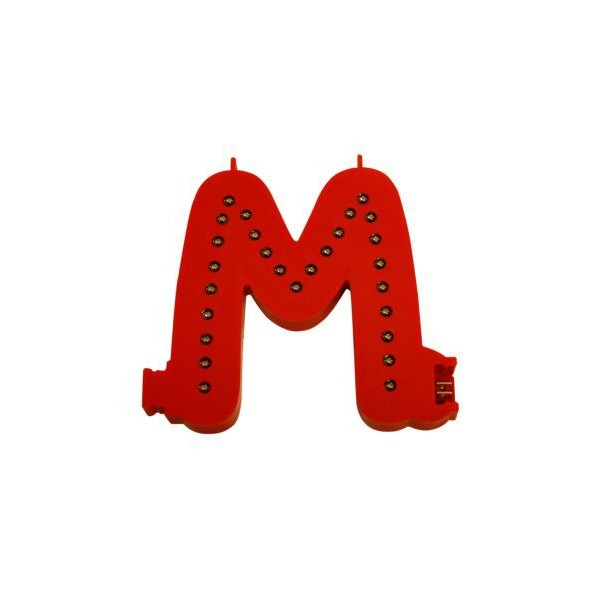 Lichtgevende letters (M)