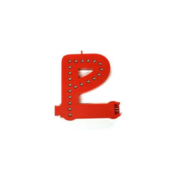 Lichtgevende letters (P)