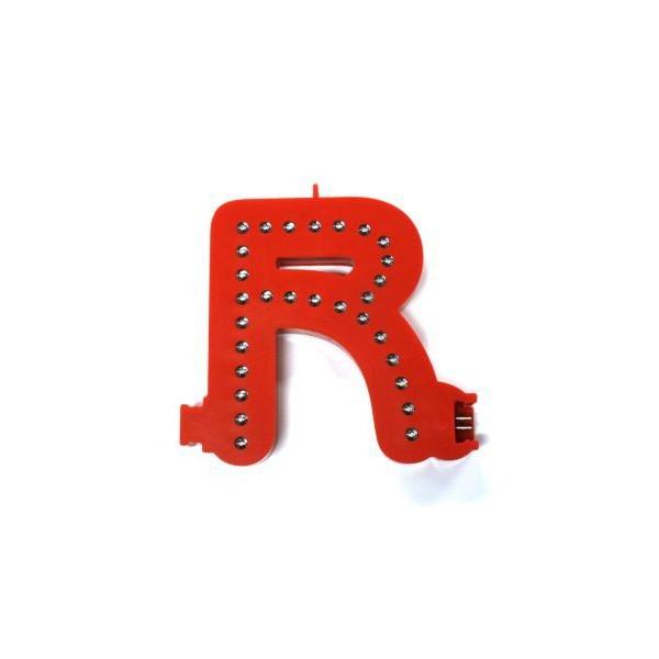 Lichtgevende letters (R)
