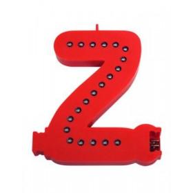 Lettres lumineuses rouges (Prix unitaire) - Z