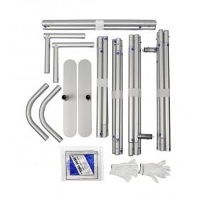 Aluminiumstruktur - einfach zu transportieren