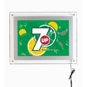 Der Acrylglasrahmen A4, A3 oder A2 mit ultraflachem Design