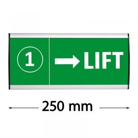 """Hinweisschild """"Sign"""" - 105x250mm"""