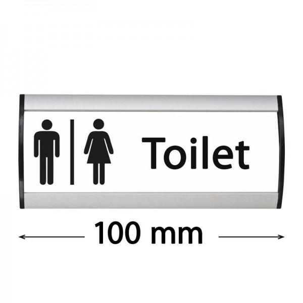 """Muurbord """"Sign"""" - Toilet - 100 mm"""