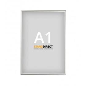 Cadre clic-clac, profilé 15 mm, avec cornières en biais - A1 (59,4 x 84cm)