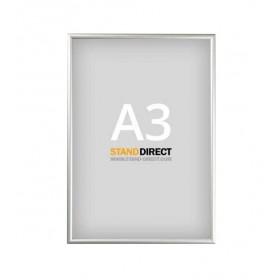 Cadre clic-clac, profilé 15 mm, avec cornières en biais - A3 (29,7 x 42cm)