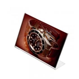 Présentoir de comptoir plexiglas - A4 (21 x 29,7cm) - Paysage