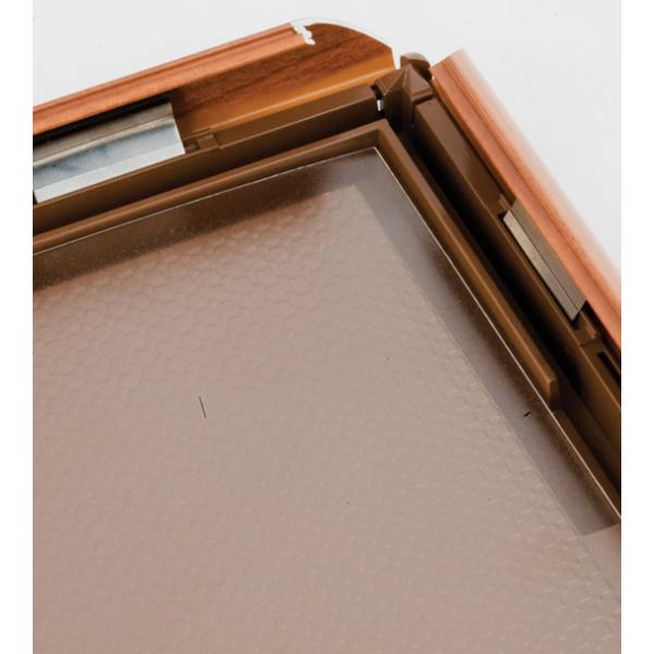 Klein A4 houten frame met kliksysteem
