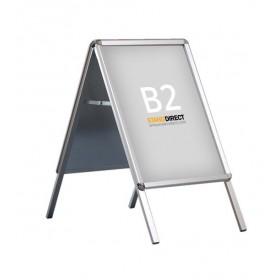 Kundenstopper, abgerundete Ecken - B2 (50 x 70,7cm)