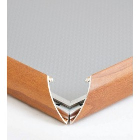 Cadre clic-clac, finition bois - A4 (21 x 29,7cm) - Bois