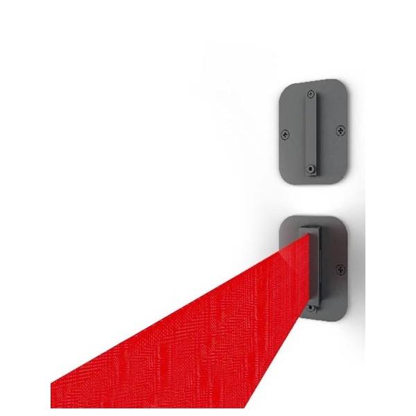 Eindwandhouder voor wandcassette