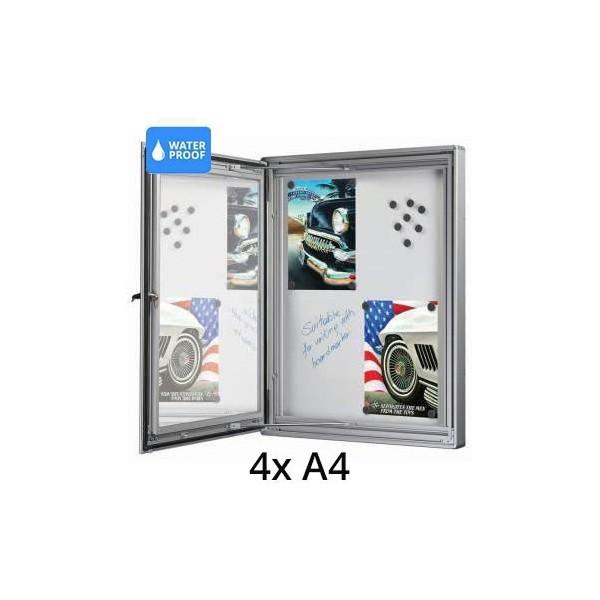 Presentatie bord voor buiten - 4x A4