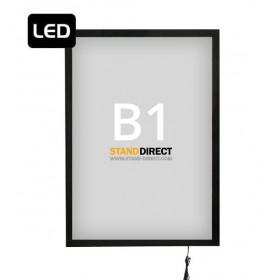 Magnetisch LED frame - B1 (70,7 x 100cm)
