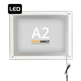 Acryled Leuchtrahmen (A4, A3 oder A2) - A2