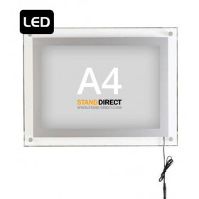 Cadre lumineux Acryled (A4, A3 ou A2) - A4 (21 x 29,7cm)