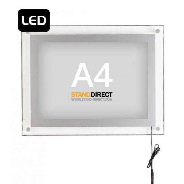 Cadre lumineux Acryled LED A4