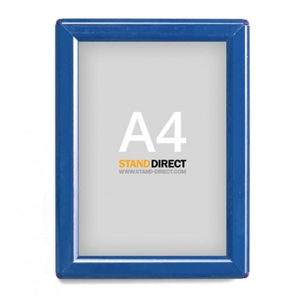Cadre clic-clac A4 bleu
