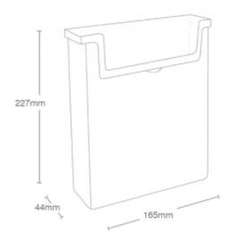 Porte-flyers A5 extérieur: dimensions